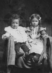 Willie Scaer (1897-1906) & Hilda M Scaer (1895-1997) c/o John & Lizzie (Schinnerer) Scaer