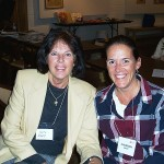 Shannon & her mom, Shannon's induction, 2005