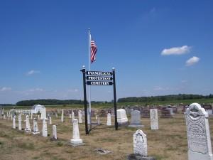 Evangelical Protestant Cemetery, Harrison Township, Van Wert County, Ohio