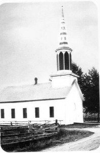 Zion Lutheran Church, Liberty Township, Mercer County, Ohio, Old Frame Church