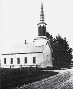 Zion Lutheran, Chattanooga. Frame church 1860-1917. (Photo c1912)