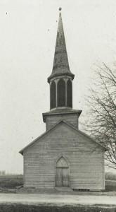 Zion Lutheran, Chattanooga. Frame church. (1860-1917)