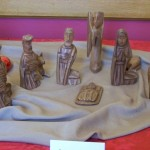 Mahogany Nativity from Haiti