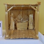 Straw Nativity from Honduras