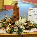 Nativity display at St. Charles Senior Living Community