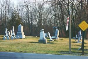 Hileman/Smith/Hartzog/Alspaugh Cemetery, Van Wert County, Ohio.