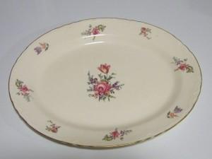 Platter, Household Institute, Priscilla Pattern.