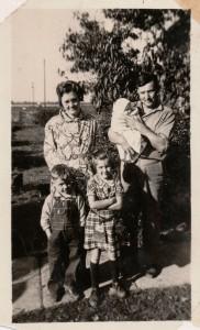 Minnie, Wesley, Max, Jean Lavon & Don Kallenberger.