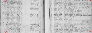 Friedrich & Martha Affeld birth record, Mercer County, Ohio, 1897 & 1989.