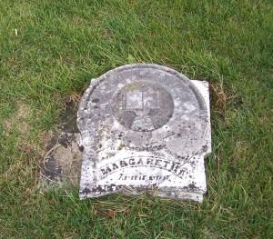 Margaretha Becher, Zion Lutheran Cemetery, Mercer County, Ohio. (2011 photo by Karen)