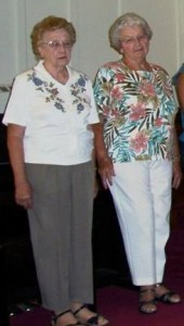 Catherine & Dolores at Zion, 2005.