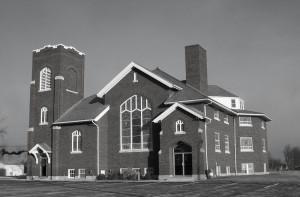 Zion Lutheran Church, Chattanooga, Ohio. (2009 photo by Karen)