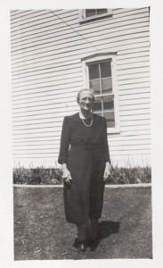 Rosa (Schlenker) Becher, 1945. Photo courtesy of Dorothy Jean (Leininger) Hellworth.