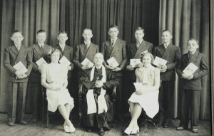 1940 Confirmation Class, Zion Lutheran, Chattanooga.