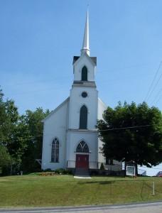 Zion Church, Winesburg, Holmes County, Ohio. (2005 photo by Karen)