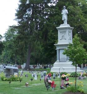 Union Cemetery, Darke County, Ohio. (2006 photo by Karen)