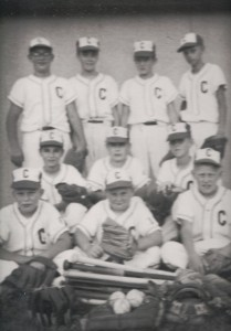 Chatt baseball team. Unknown year.