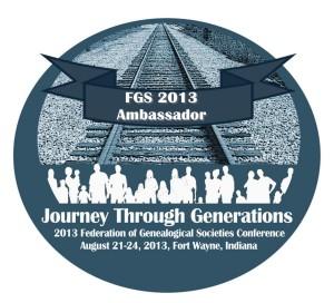FGS 2013 Ambassador Badge