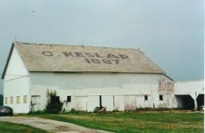 Christian Kesler Barn. (2001 photo by Karen)