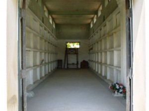 Interior of Chattanooga Mausoleum. (2013 photo by Karen)