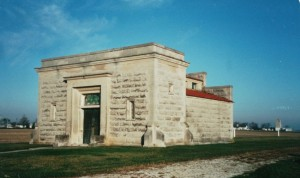 Chatt Mausoleum. (2000 photo by Karen)