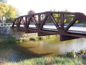 Bloody Bridge, Auglaize County, Ohio. (2013 photo by Karen)