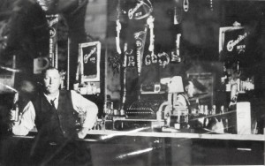 Chatt Bar 1905, photo hangs in bar. (2013 photo by Karen)