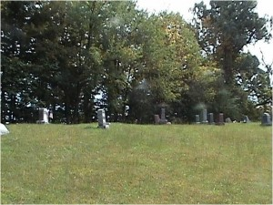 Houck Cemetery, Kentucky. (photo used by permission)