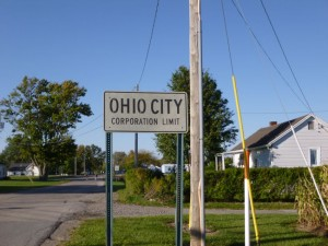 Ohio City, Van Wert County, Ohio. (2013 photo by Karen)