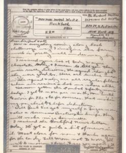 V-Mail from Herbert Miller, 10 March 1945.