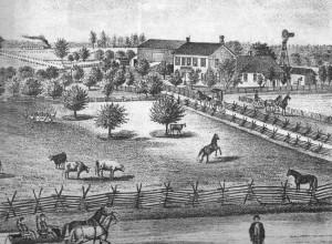 Friederich Schumm farm, Willshire Township, Van Wert County, Ohio, 1882.