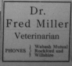 The Willshire Herald, Christmas 1933.
