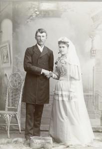 John & Elizabeth (Schinnerer) Scaer, 1894.
