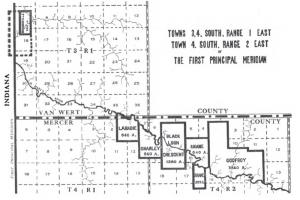 Mercer County, Ohio, Indian Reserves.