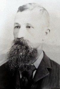 Charles F. Germann (1849-1932). Photo courtesy of Sue Allen.