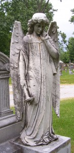 Elm Grove Cemetery, St. Marys, Auglaize County, Ohio. (2013 photo by Karen)