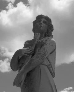 Woodland Cemetery, Van Wert County, Ohio. (2013 photo by Karen)