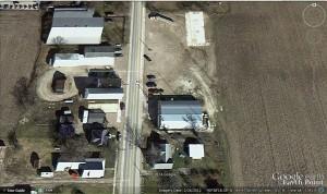 Chattanooga, Ohio, Google Earth, 26 Feb 2012 photo.