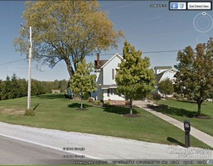 Charles Schumm home today. 2013 image, Google Earth, downloaded 26 June 2014).