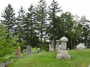 Cemetery, Baltic, Ohio. (2014 photo by Karen)