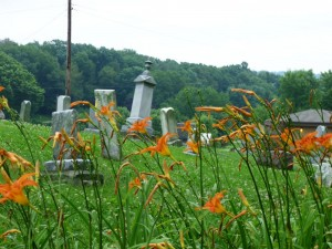Cemetery, Tuscarawas County, Ohio. (2014 photo by Karen)