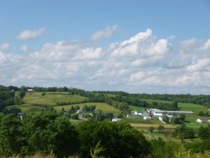 Near Walnut Creek, Holmes County, Ohio. (2014 photo by Karen)