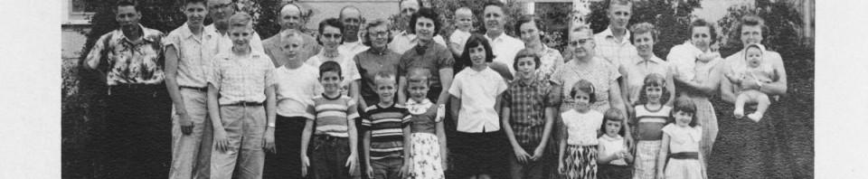 Miller reunion, c1958.