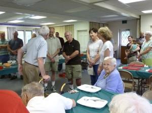 About 55 Miller descendants attended the 2014 Miller Reunion. (2014 photo by Karen)