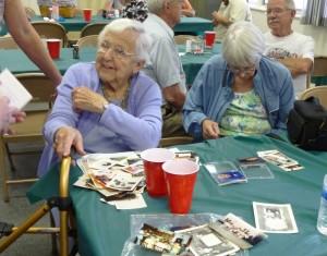 Aunt Ruth at 2014 Miller Reunion. (2014 photo by Karen)