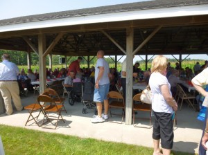 Nearly 225 attended the 2014 Schumm Reunion. (2014 photo by Karen)