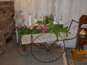 Gendron Mail Cart