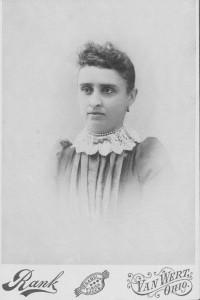 Rosina (Schumm) Germann (1868-1954). Mother of Edna and Viola Germann.