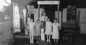 Schumm Post Office, c1930.