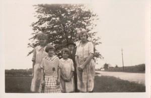 Emma, Velma, Kate, & Marie Schumm.